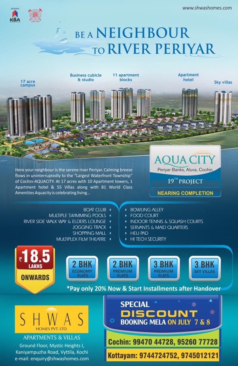 Shwas Homes Aqua City