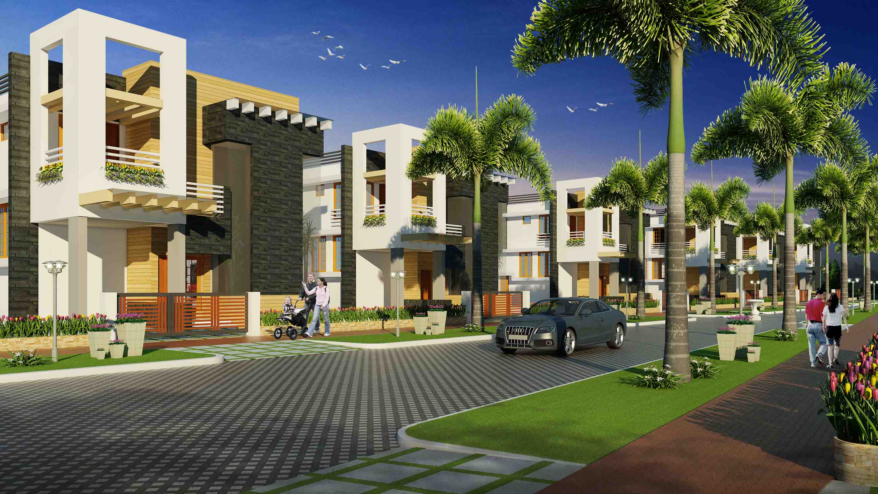 Aqua city shwas homes the most respected home builders for Villa builders