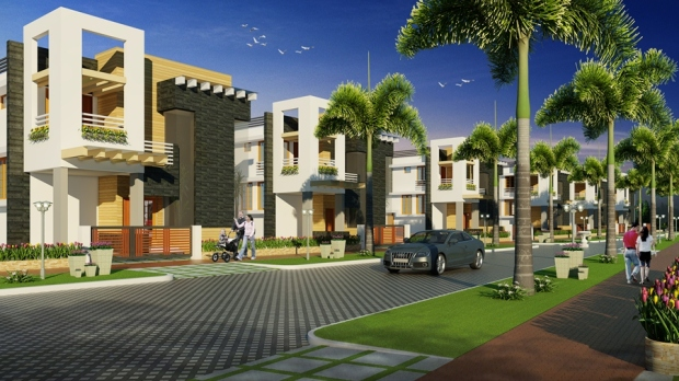 Palmbay Garden Villas Colony View