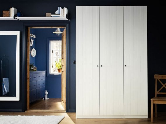Farmhouse-white-bedroom-wardrobe-with-three-sections